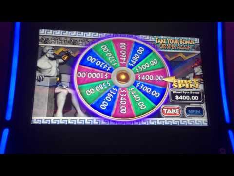 Ancient Thunder Keno Slot Machine - Zeus Bonus - Huge Win!!!