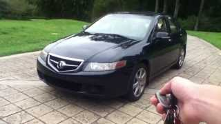 8. Checking out a 2004 Acura TSX