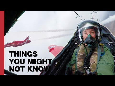 How Formation Flying Works (feat. the Red Arrows!)
