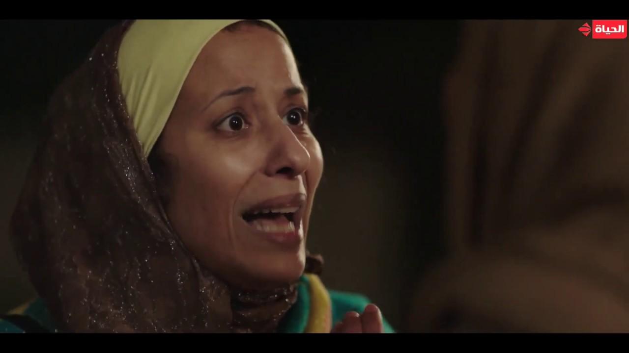 """مسلسل بـ 100 وش - مواجهة نجلاء مع عم سامح اللي أكل حقها وسرقها """"كلي طين واشربي من الترعة"""""""