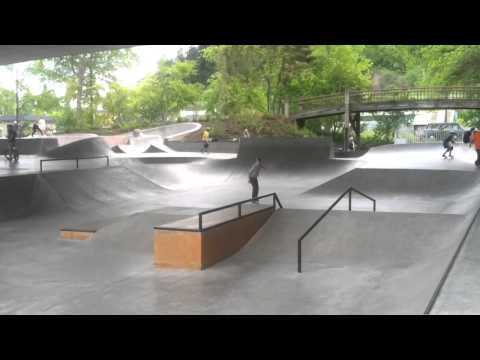 Washington Jefferson Skatepark -Eugene Oregon