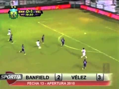 Golazo de Gabriel Méndez a Vélez