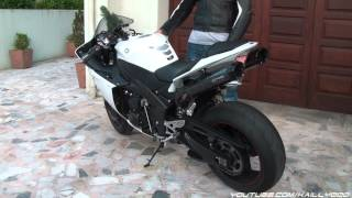 2. Yamaha YZF-R1 2011 Two Bros CF Black Series Exhaust (FULL HD)