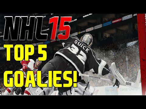 "NHL 15: PLAYER RATINGS ""TOP 5 GOALIES"" (My Thoughts)"