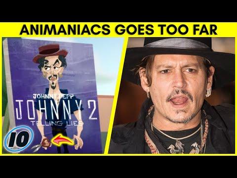 Johnny Depp vs Amber Heard Joke Leads To Animaniacs Boycott
