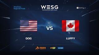 Luffy vs Dog, game 1