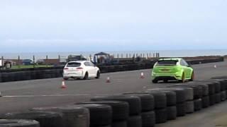 Crail Ford Focus RS vs. Seat Leon Cupra K1 4/3/12