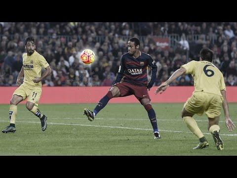 Gol antológico de Neymar contra Villarreal