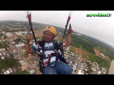 Voo de Paramotor em Cruzeiro do Sul - AcrevideoHD