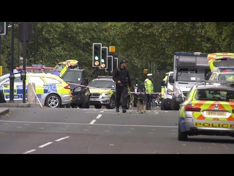 Varios heridos por un atropello frente al Museo de Londres