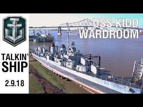 Talkin' Ship - U.S.S. Kidd Wardroom