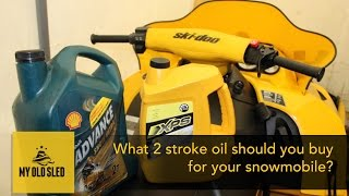 10. Which 2 stroke oil should you buy for your Snowmobile?