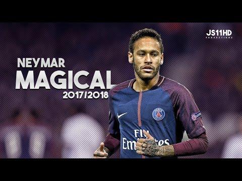 Neymar Junior ● Magical Skills,Trick ,Dribbling & Goals in PSG ● 2017/2018 | HD