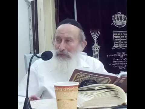 הרב אהרן הלפרין יד כסלו