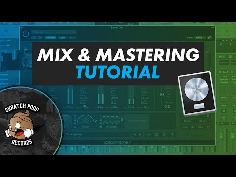 How To Mix And Master Beats Tutorial For Logic Pro X - Izotope Ozone 7 - Dj Idea