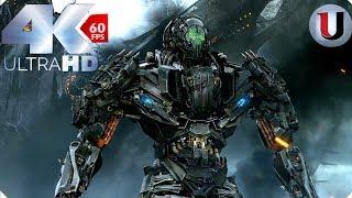 Optimus Prime vs Galvatron & Lockdown -Transformers Age of Extinction - 2014 CLIP IMAX (4K)