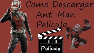Como descargar Ant Man  Pelicula Completa  Español Latino