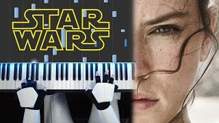 Rey's Theme - STAR WARS The Force Awakens (Piano Cover) [medium]