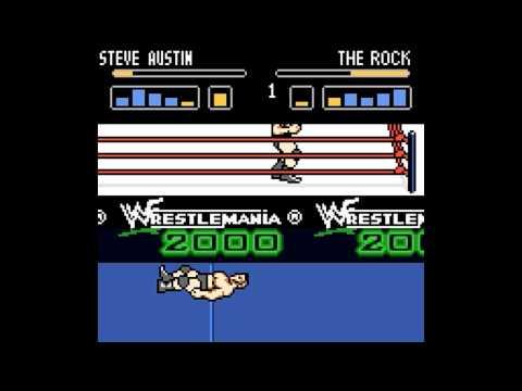 WWF Wrestlemania 2000 Game Boy