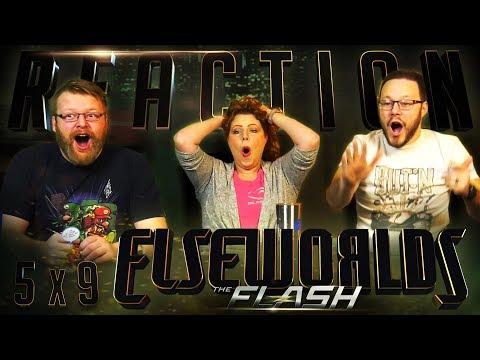 "The Flash 5x9 REACTION!! ""Elseworlds, Part 1"""