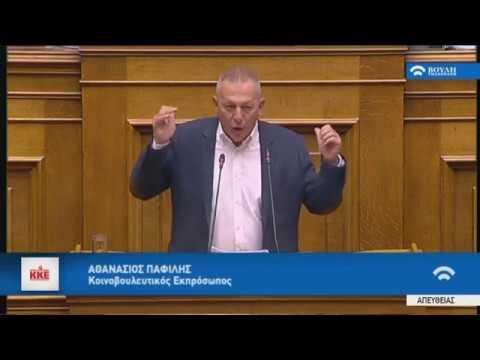 Α.Παφίλης (Κοινοβουλευτικός Εκπρόσωπος) (Κύρωση Συμφωνίας Πρεσπών) (24/01/2019)