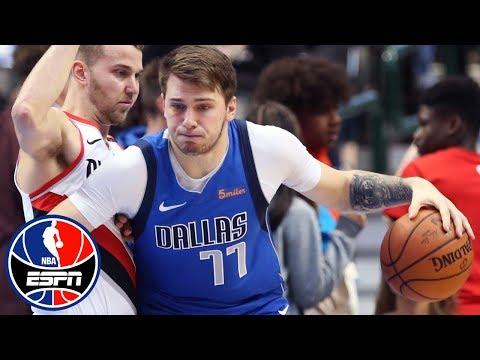 Video: Luka Doncic leads the way as Mavericks top Trail Blazers | NBA on ESPN
