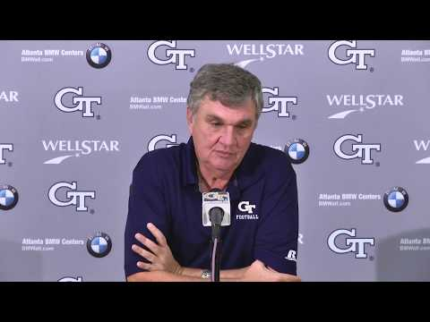 Video: Game 10: Paul Johnson Weekly Press Conference (11-14-17)