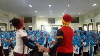 Pelatihan Senam Islami Ceria Himpaudi kab Tasikmalaya Sesi 1 tgl 4 nov 2017