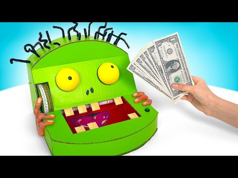 Incredible Zombie Counting Machine For Cash