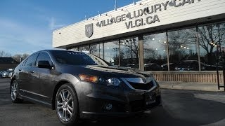 2009 Acura TSX [Sport] In Review - Village Luxury Cars Toronto
