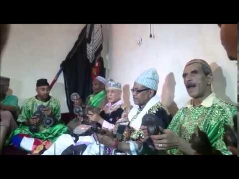 مقطع من ليلة كناوية للمعلم احمد باقبو و المعلم عبد الكبير مرشان & Gnawa Oulad Bambra