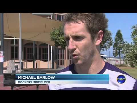 The Dockers arrive to take on the Crows &#8211; Ten News Report