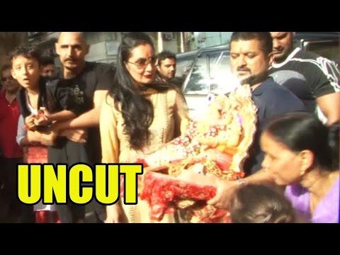 UNCUT: Sanjay Dutt's Wife Manyata And Kids Head Fo