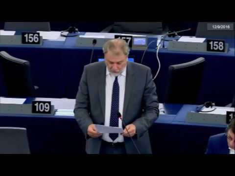 Ο Νότης Μαριάς καταγγέλλει στην Ευρωβουλή τις προκλητικές δηλώσεις της γερμανικής καγκελαρίας για τις γερμανικές αποζημιώσεις