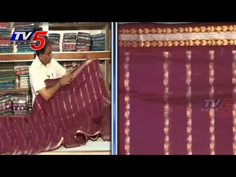 Snehitha | Gadwal Pattu Sarees | PART 2 : TV5 News 23 July 2014 04 PM