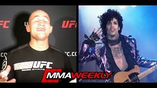 Junior dos Santos breaks out singing Prince song by MMA Weekly