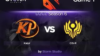 Kaipi vs CIS Rejects, game 1