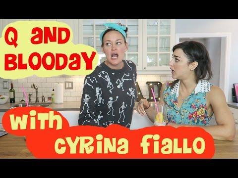 Cyrina Fiallo Nude Full Frontal in Ad.