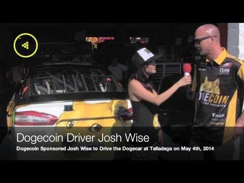Interview with the Dogecoin NASCAR Driver Josh Wise