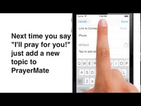 Video of PrayerMate