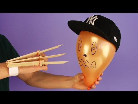 How to Make Automatic Wolverine Claws Using Wooden Popsicle