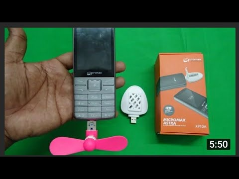 Micromax All in One 4000Mah Multi Use Basic Mobile Use as Portable Fan,mosquito repellent,Power Bank