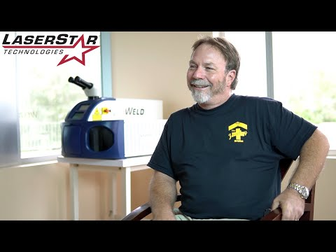 <h3>LaserStar - Advanced User Workshop (Customer Testimonial)</h3>In this customer testimonial, brought to you by http://laserstar.net, Danny Buchanan of The Jewelry Hospital talks about the LaserStar Advanced Users Group Workshop and how his laser welding system has helped him in his jewelry business.<br /><div>&nbsp;</div>