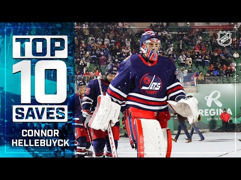 Top 10 Connor Hellebuyck Saves from 2019-20  NHL