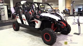7. 2015 Can-am Maverick Max XRS 1000R - Exterior and Interior Walkaround - 2014 Toronto ATV Show