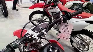 10. 2018 Honda CRF125F Complete Accs Series Lookaround Le Moto Around The World