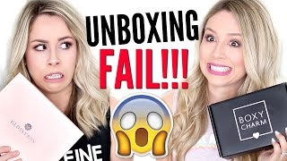 $224?? | UNBOXING Boxycharm VS Glossybox FAIL!! by Eleventh Gorgeous
