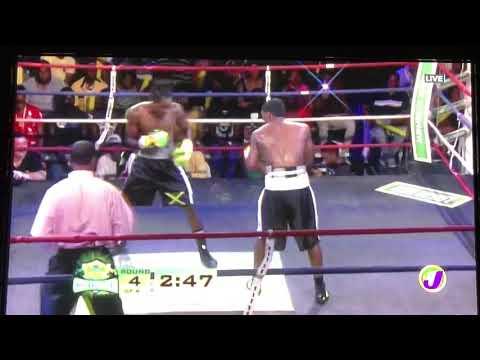 The Contender Jamaica Season 8 - Richard Holmes vs Lloyd Reyes Round 4