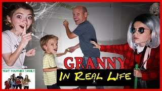 Video Granny Game In Real Life Basement Escape / That YouTub3 Family MP3, 3GP, MP4, WEBM, AVI, FLV Juli 2018