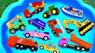 Video Cars for kids, Toys review and learning name and sounds Construction vehicles, Excavator toy MP3, 3GP, MP4, WEBM, AVI, FLV Februari 2019